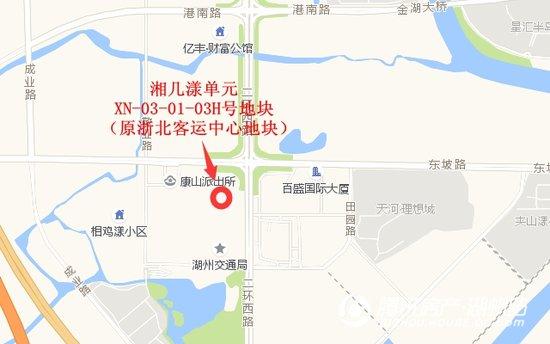 原浙北客运中心地块以居住用地拍卖 起拍价6.73亿