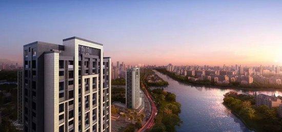鸿泊湾4月最新工程进度照 部分楼幢已开始地面建设