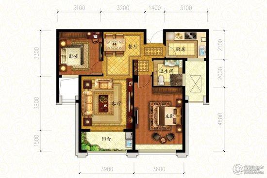 凤凰城项目将于金秋交付 87方样板房公开在即