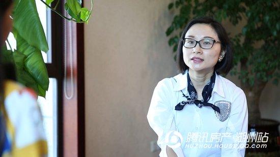 专访:佳源杭城集团总裁裘灵燕女士