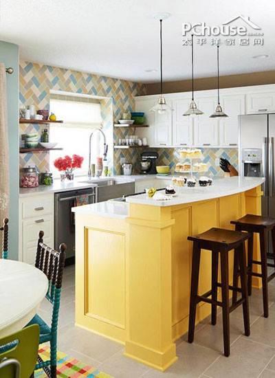 小户型全新打造 3招教你设计岛型厨房