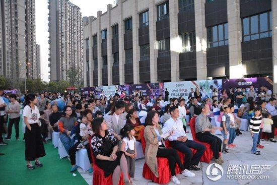 4月30日翰林世家第六届邻里节启幕晚会盛况空前