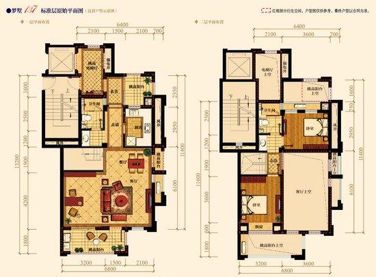 泊林印象15#楼即将登场 梦墅137跃层火热预约中图片