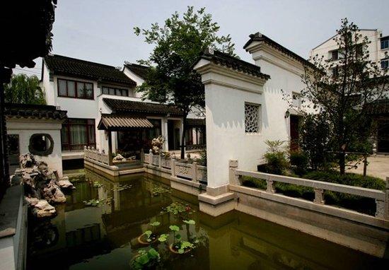 4层别墅15间房古典园林