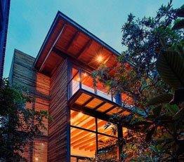 宛如童话般惊艳 墨西哥的绿野建筑