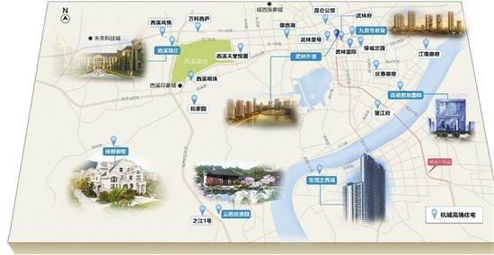 目前杭州的别墅,主要有两种城市,一种是市区的大平层,一种是豪宅别墅.形态兰园绿城图片