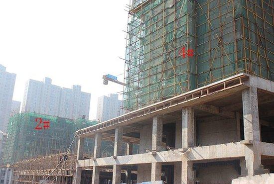 和合·国际城四期12月最新工程进度