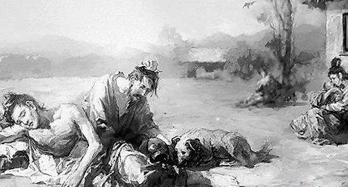历史上有没有因为饥荒而出现的人吃人事件-