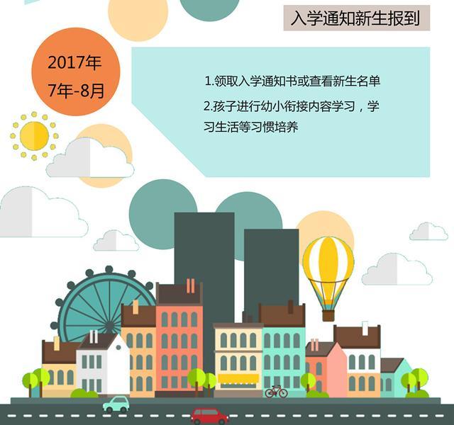 2017南京幼升小时间轴