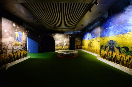 《遇见梵高》光影互动艺术展在宁精彩开展