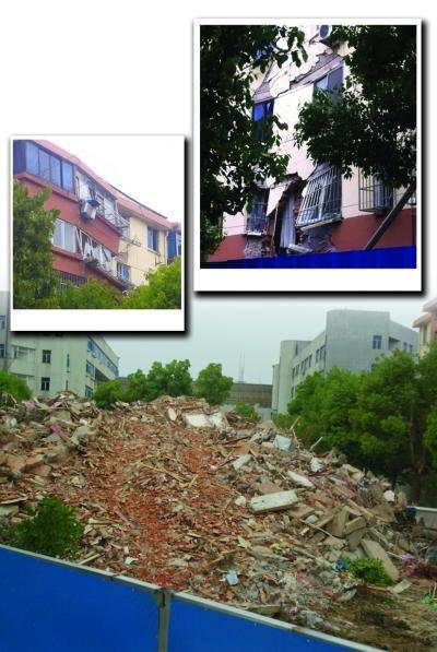 常州25年居民楼坍塌 政府每户发放救助金2000元