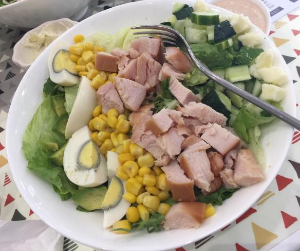 冬日拒绝养膘 谁说冬天不适合吃沙拉?