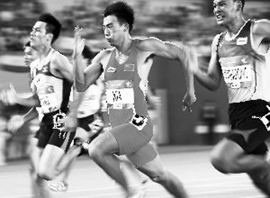 生活短曲(78)体育运动会赞语(2)百米运动员 - 大松先生 - 大松的博客