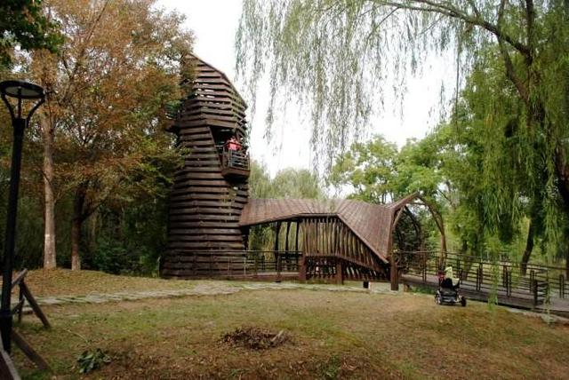 南京市区隐藏了一座快被遗忘的公园 人少景美还免费