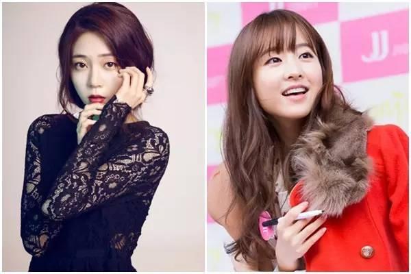 韩国人气女星告诉我们,单眼皮也可以很漂亮。