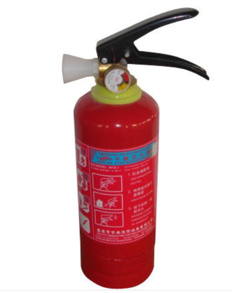 火灾灭火器的使用方法