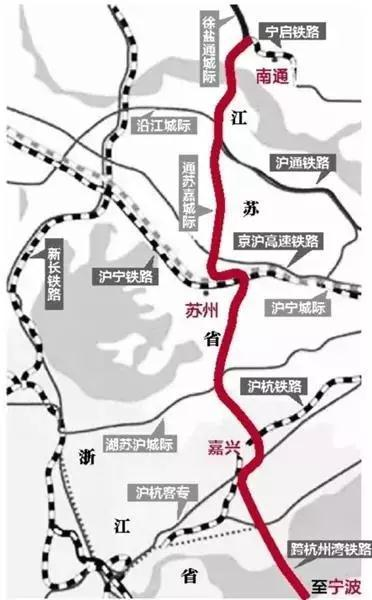 畅通苏嘉甬铁路拥有新半途而废 南畅通正西站末了尾招标注