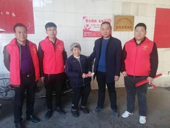 忻州同济医院志愿者看望爱心孔妈妈