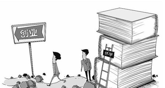 调查:休学创业,大学生怎么看图片
