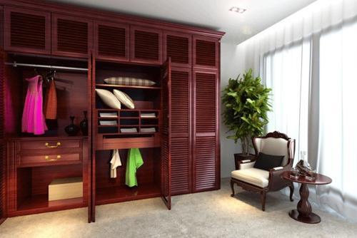 卧室衣柜装修五大省钱计 省出费用和空间图片