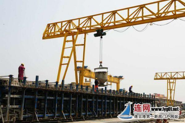 青连铁路连云港段建设提速 明年8月具备通车条件