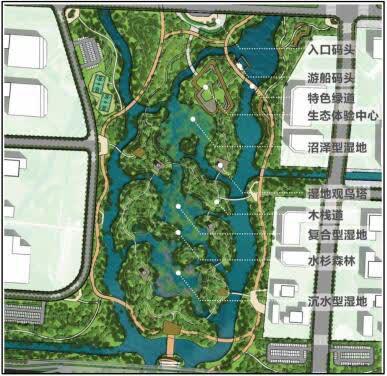 南通中央森林公园项目又有新进展