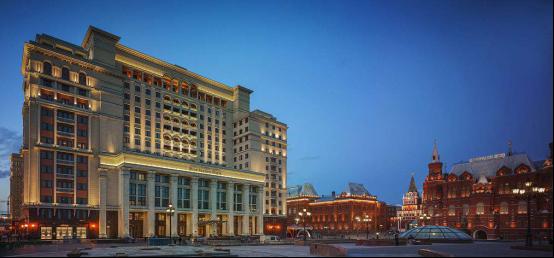 2018年5月19日 红场 莫斯科四季酒店