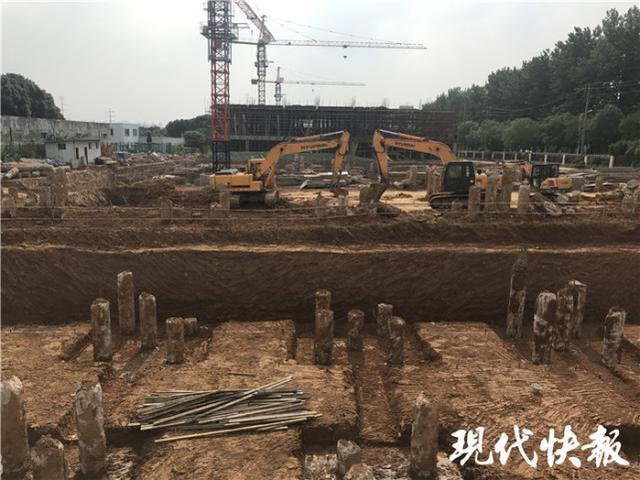南京工人破桩时意外身亡 原是混凝土桩内有问题