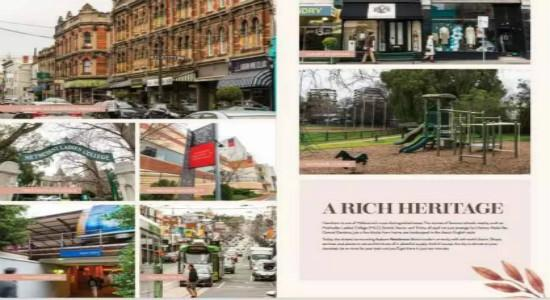 【Auburn Residences】墨尔本富人区联排别墅