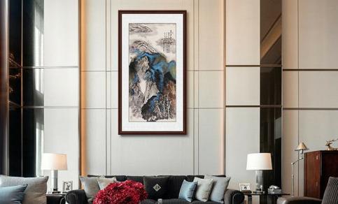 客厅装饰挂画怎么选 各类档次的客厅挂画参考指南