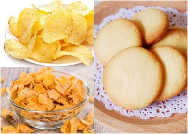 英国调查发现薯片及饼干等食品含可致癌物丙烯酰胺