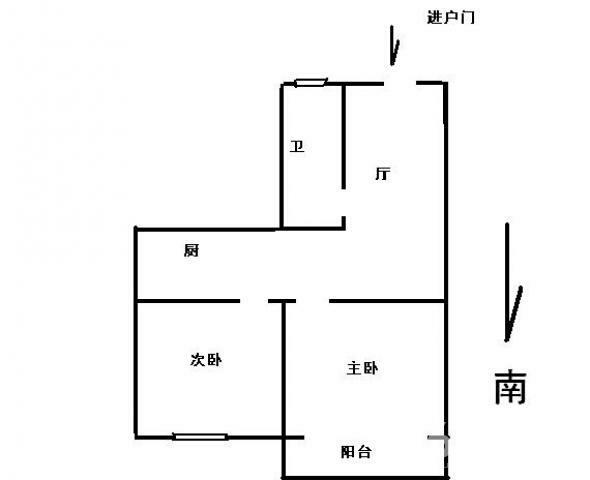 青云巷 48㎡ 139万