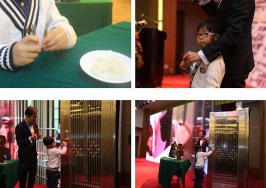 5岁小儿用一粒米开锁 装修钥匙大bug千万要注意
