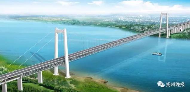 扬州又添一条跨江大通道 到镇江苏州道路选择更多
