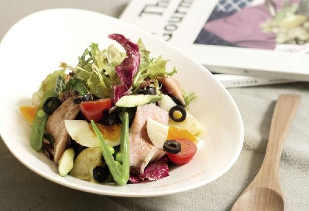 简单又减肥的自制沙拉