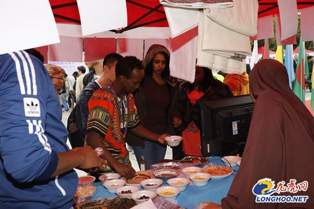 南航国际民族文化周开幕 30余个国家留学生共展风采