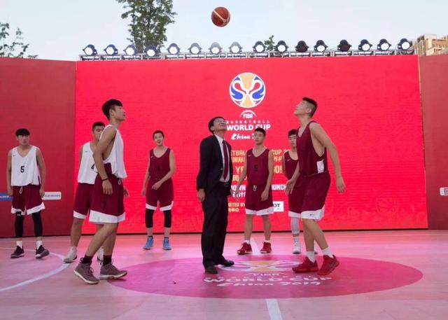 """3V3""""青年篮球训练营""""开球 助力篮球世界杯"""