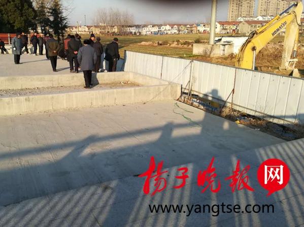 淮安一液化气公司土地到期仍不还 被法院强制搬离