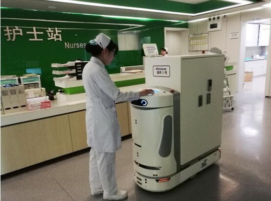 南京逸夫医院携手木木机器人成立智慧医疗物流机器人应用研究实验室