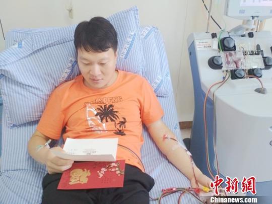 别样方式迎接孩子出生 盐城准爸爸捐献造血干细胞