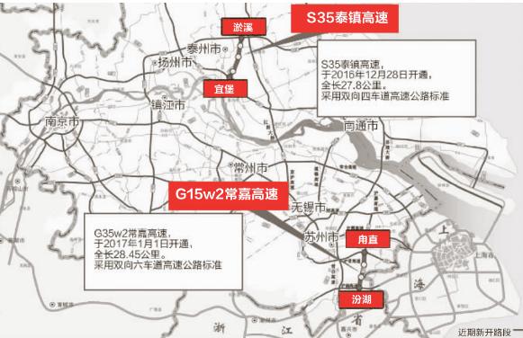 江苏春节高速流量将达237万 开车可走三条新路