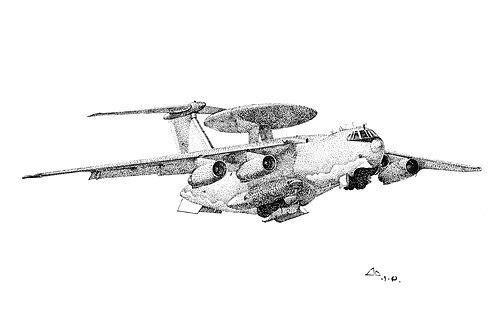 南航学生手绘阅兵飞机