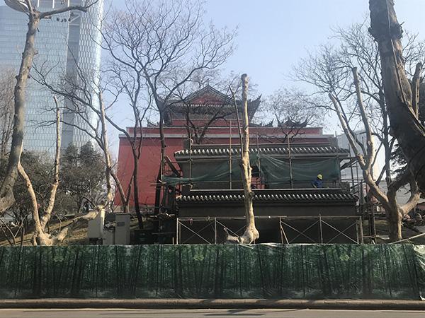 南京鼓楼公园回应疑似违章建筑:历史原因正补办手续