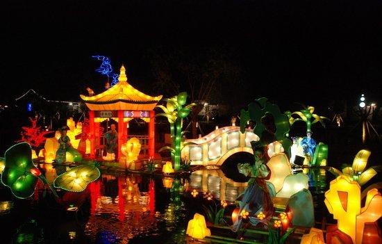 中秋节习俗:玩花灯_地方站_腾讯网