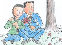 有妇之夫向婆婆求婚 新娘风头被抢