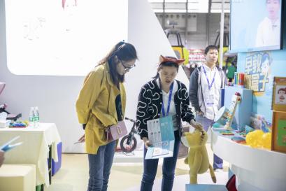 中国幼教展上 年糕妈妈教育产品矩阵集体亮相
