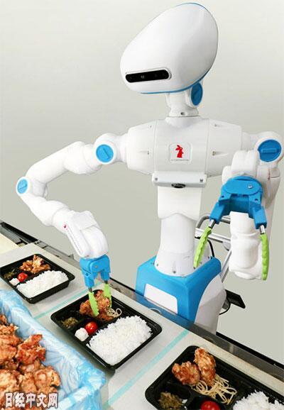 日本开发分装便当机器人 再也不怕打饭阿姨手抖