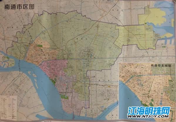 南通新版地图首次标注中创区,海安市和轨道交通线路