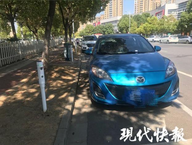 看过来!南京首批道路视频智能停车桩亮相