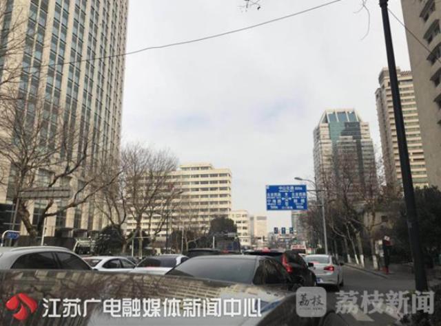 """南京进入""""年堵模式"""" 市民出行须注意"""